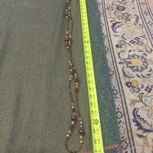 unknow Jewelry - Long beaded neck decoration necklace
